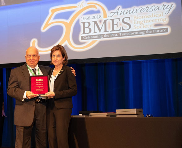 Langrana Honored with BMES Fellow Award | Rutgers University