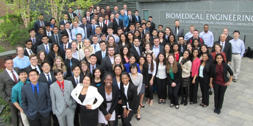 Senior Design Conference Group Picture, April 30, 2015